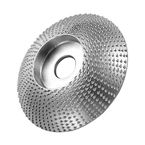 L-Yune, 1pc Pulido de Madera ángulo de la Rueda Amoladora Disco de carburo de Madera Lijado Talla 84 mm Disco for Amoladora Angular/Muela Shaping Grinder (tamaño : Surface)