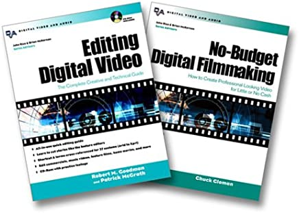Goodman/Gloman Digital Filmmaking Bundle (Editing Digital Video, No-Budget Digital Filmmaking)