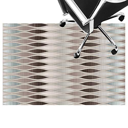 bürostuhlunterlage bodenschutzmatte Teppich für bürostuhl, Low Pile Carpet, rutschfeste Stuhlmatte, Silent Bodenschutzmatte Für Holzböden, Keramikfliesen, Laminat(Size:80×120cm/31×47in,Color:C.)