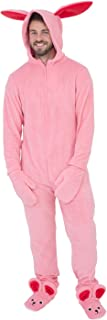 pink bunny outfit christmas story