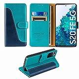 FMPCUON Custodia Samsung Galaxy S20 Fe 5G,Premium Portafoglio Magnetica Flip Case Custodie Cover a...