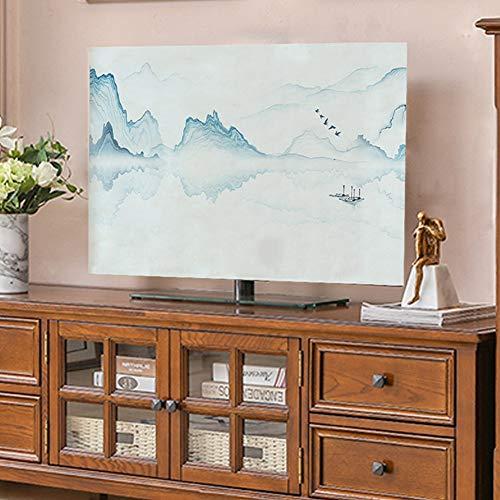 catch-L Interior Cubierta De Polvo Escritorio Montaje En La Pared Televisores Computadora LCD Cubierta De Tela (Color : BH5, Size : 58inch-136 * 85cm)