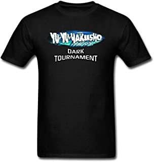 XIULUAN Men's Yu Yu Hakusho Dark Tournament Game Logo T-Shirt