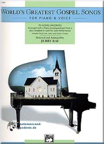 World's Greatest Gospel Songs - Noten Songbook [Musiknoten]
