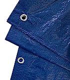 GardenMate 2x3m 90g/m² Lona impermeable de protección Universal azul/verde - Funda protectora - Malla geotextil