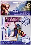 Amscan Decorados pared Frozen, Talla unica (Travis Designs 999262)
