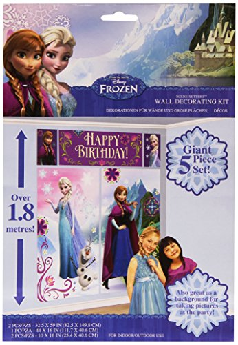 Disney Amscan International Frozen Scene Setter