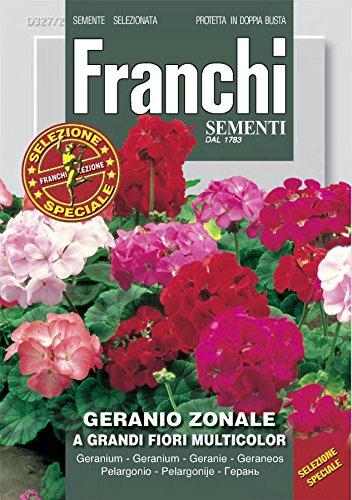 Franchi FDBF_S 327-2 Mélange de graines de géranium Zonal Grandi Flora