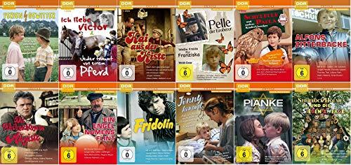 Die schönsten DDR TV-Archiv Kinderfilme (u.a. Alfons Zitterbacke, Feriengewitter, Pelle der Eroberer, Die Weihnachtsgans August