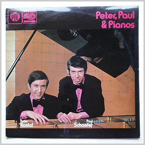 ROSTAL & SCHAEFER Peter Paul & Pianos LP 1971