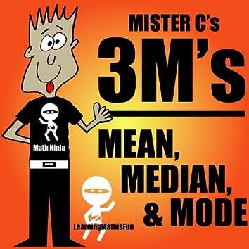 3m's - Mean, Median, & Mode - Single