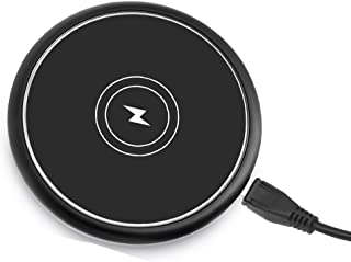 YAYALE 7.5W Fast Wireless Charger Compatible with iPhone XR/iPhone Xs/iPhone X/iPhone 8/8 Plus, Sumsung Galaxy S9/S9+/S8/S8+ S7 Note 8 and All Qi-Enabled Devices(QC3.0 Adapter Included)