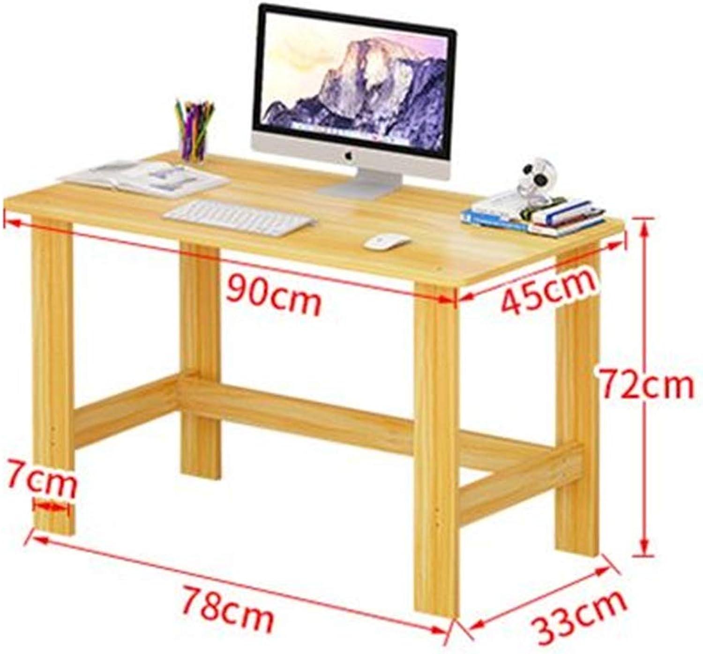 YNN Computer Desktop Table Household Desk Simple and Modern Economic Type (Capacity   90  45  72CM)