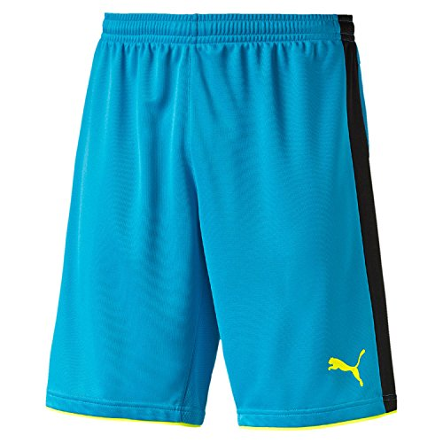 PUMA Herren Hose Tournament GK Shorts, atomic blue-Safety yellow, XL