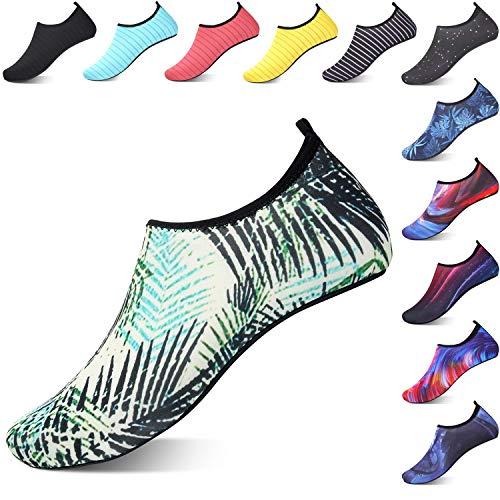 OUSIMEN Zapatos de Agua Hombre Mujer Zapatillas Ligeros de Secado Rápido para Swim Beach Surf Yoga