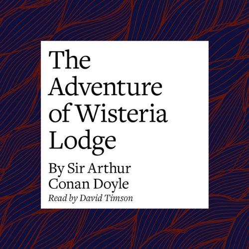 The Adventure of Wisteria Lodge copertina