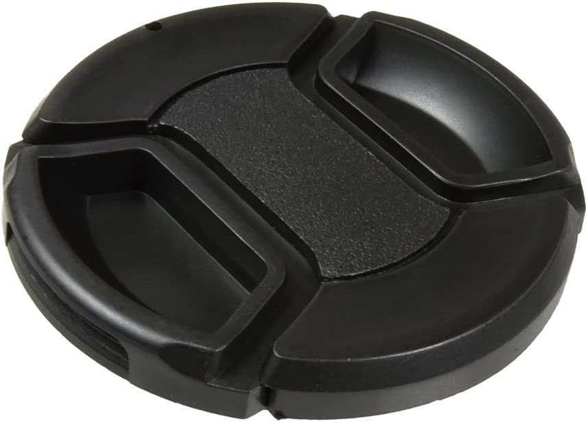 CamDesign 58MM Snap-On Super intense SALE Front Lens Oakland Mall with Cap Compatible Cover Cano
