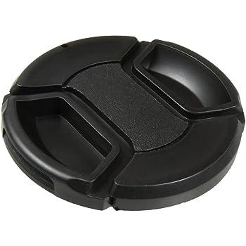 Lens Cap Center Pinch for Pentax K20D + Lens Cap 46mm Microfiber Cloth