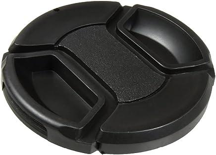 4 x 55MM Front Lens Filter Snap On Pinch Cap Protector Cover for DSLR SLR Camera Lens 55x4 IMZ Lens Cap Bundle