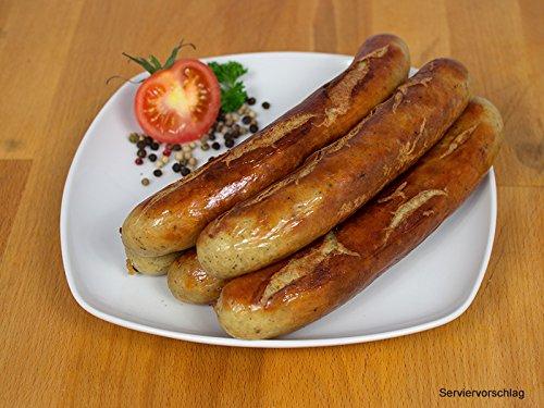 Rostbratwurst, 2 Packungen zu 5x100g - Bratwurst / Grillwurst ideal für Grill und Pfanne - Original westfälisch Ringhoff