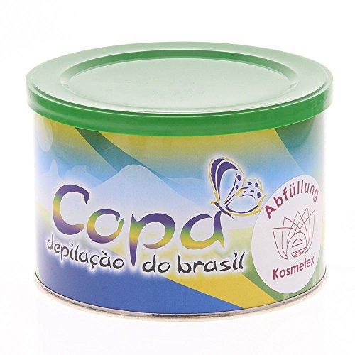 Copa depilacao Do Brasil, cera de Brasil suave y flexible, Brazil Waxing sin Fieltro de Rayas, Kosmetex abfüllung 400ml