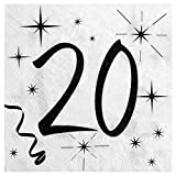 Chal – 20 tovaglioli per compleanno 20 anni