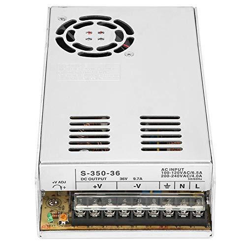 Schaltnetzteil - Schaltleistung 36V 9.7A 350W Sicherheitsüberwachung Industrielle Wechselstromversorgung - für CNC-Router-Kits