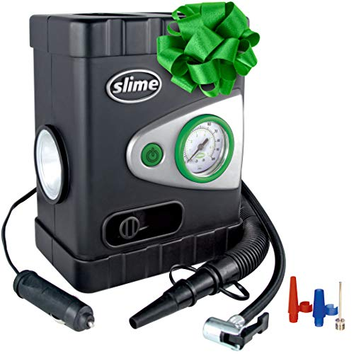 Slime 40034 All-Purpose 12V Dual Raft Pump/Tire Inflator