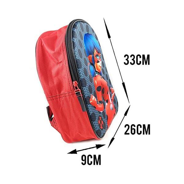 516ZOnToyrL. SS600  - Miraculous Ladybug Mochila Infantil Escolar 3D niña 33cm (EVA-460-8358)