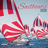 Turner 写真 ヨット 2020 12X12 写真 壁掛けカレンダー (20998940049)