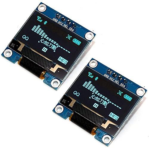 IGOSAIT Módulo de pantalla OLED IIC de 0.95 pulgadas / 0.96 pulgadas / 12864 OLED I2C SSD1306 para Arduino (color: azul 0.96)