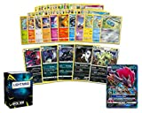 Pokemon Dark Collection - 50 Pokemon Cards Plus 5 Rare Dark Pokémon and 1 Dark Ultra-Rare Card Free Lightning Card Collection Deck Box Include