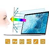 2PC 15.6 in Anti Blue Light Laptop Screen Protector, Anti Glare Filter Film Eye Protection Blue Light Blocking...