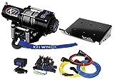 KFI Combo Kit - A2500R2 Winch & Winch Mount - 2008-2018 Suzuki LTA400F & LTF400F King Quad 400