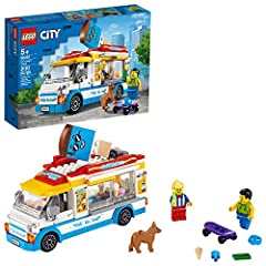 Kids can create sunny, summer-day fun with this LEGO City Ice-Cream Truck designed to inspire creative, independent role-play based on everyday life This fun-filled set for kids sparks creative play with a brightly colored ice-cream truck, ice-cream ...