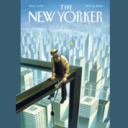 The New Yorker, May 18th, 2009 (Jonah Lehrer, Dana Goodyear, John Seabrook) cover art