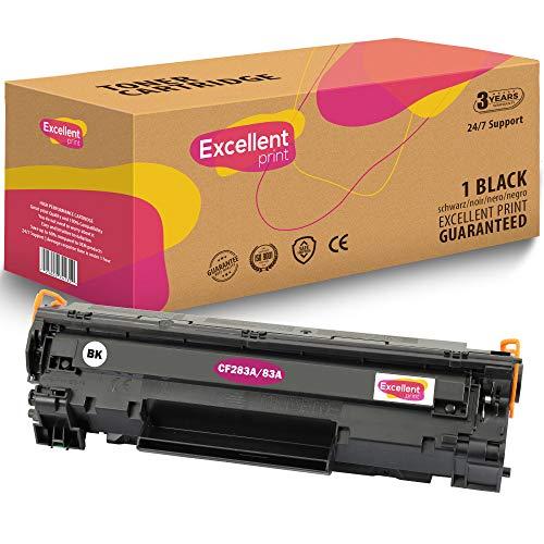 Excellent Print CF283A 83A Kompatibel Tonerkartusche für HP Laserjet Pro MFP M225DW M127FW M125A