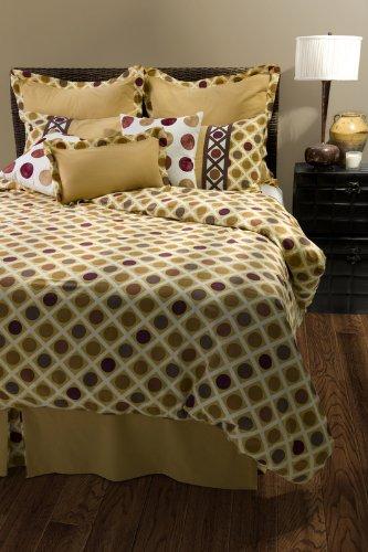 Rizzy Home BT-822K Somerset Spring 10-Piece Comforter Set, King
