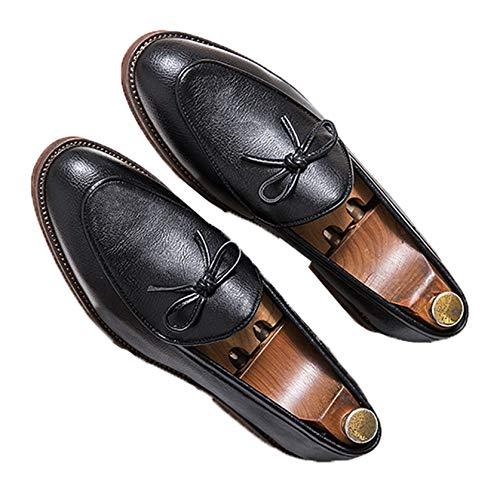 Mocasines para Hombre, Zapatos Formales de Trabajo de Estilo británico, Zapatos de...