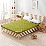 Colchón de fibra de bambú plegable colchón de espuma...