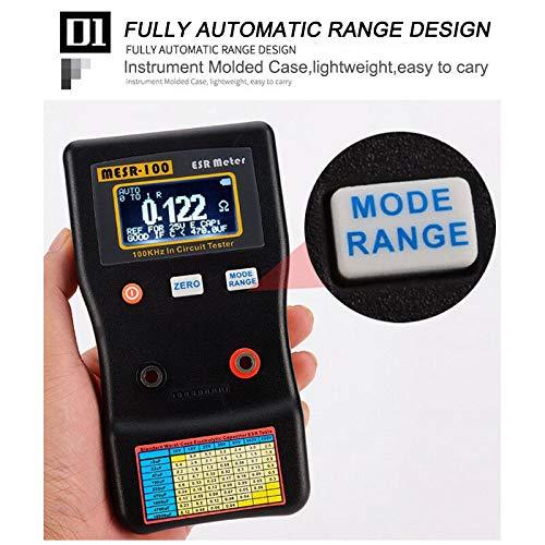 Digitaler Kondensator-Tester MESR-100 V2 Kapazität Ohm ESR Kondensator Meter Tester 0,001 bis 100R