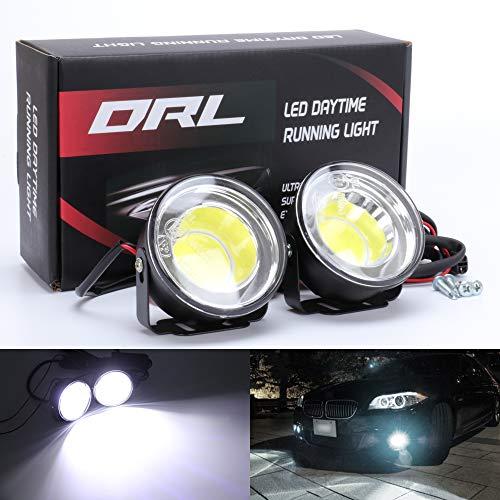 TABEN LED-Scheinwerfer, rund, 6,4 cm, 29 W, IP68, wasserdicht, für Geländewagen, UTV, LKW, ATV (2 Stück)