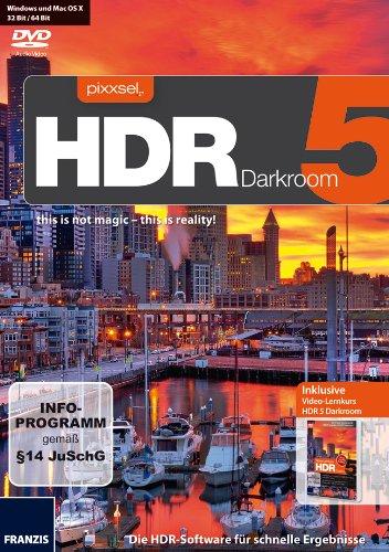 FRANZIS VERLAG GMBH HDR 5 Darkroom Video-Lernkurs HDR