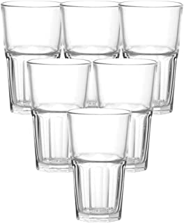Ocean Centra Hi Ball Glass, Pack of 6, Clear, 300 ml, P01961