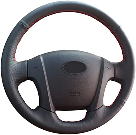 ZYTB For Black Car Steering Cover Soft Car Steering Wheel Cover para Kia Sportage 2 2005