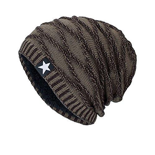 iHENGH Bequem Lässig Mode Unisex Strickmütze Hedging Head Hat Beanie Cap Warme Outdoor Fashion Hut KH