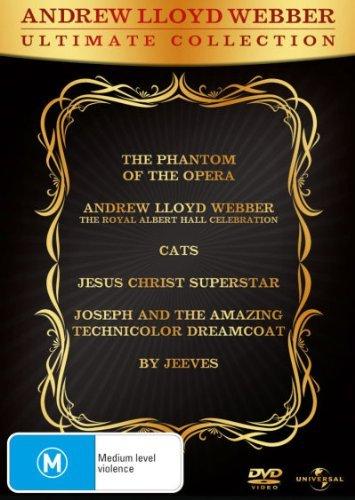 Andrew Lloyd Webber - Ultimate Collection - 6-DVD Set ( The Phantom of the Opera / Andrew Lloyd Webber: The Royal Albert Hall Celebration / [ Origen Australiano, Ningun Idioma Espanol ]