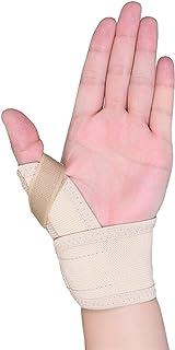 Tenodynovistの首の嚢胞保護具の親指グローブの捻挫固定 (Color : Thin section)