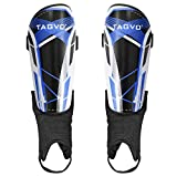 TAGVO Soccer Shin Guards, Kids Youth Adults Soccer Gear with Ankle Sleeves, Soccer