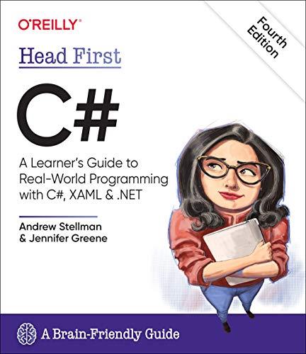 [画像:Head First C#: A Learner's Guide to Real-World Programming with C# and .NET Core]